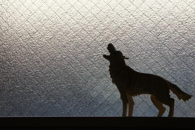 犬が夜に吠える