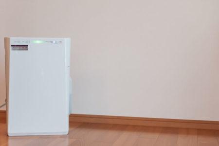 犬の花粉症対策空気清浄機