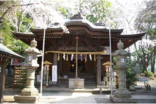 犬と行ける神社座間神社(神奈川県座間市)