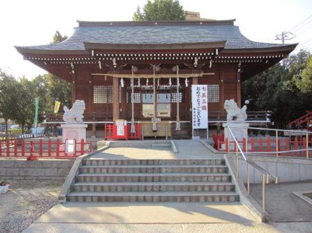 犬と行ける神社朝日氷川神社(埼玉県川口市)
