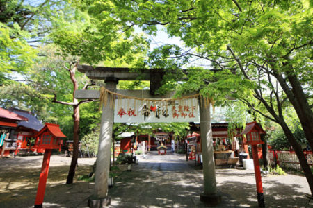 犬と行ける神社日本七社 冠稲荷神社(群馬県太田市)