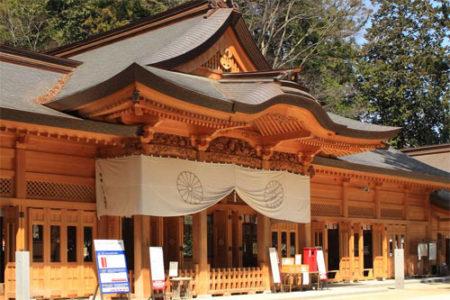 犬と行ける神社穗高神社(長野県安曇野市)