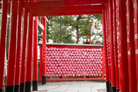 犬と行ける神社三光稲荷神社(愛知県犬山市)
