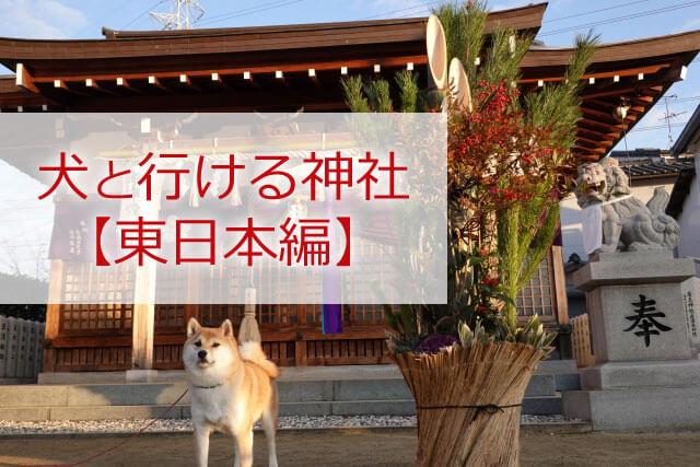犬と行ける神社関東