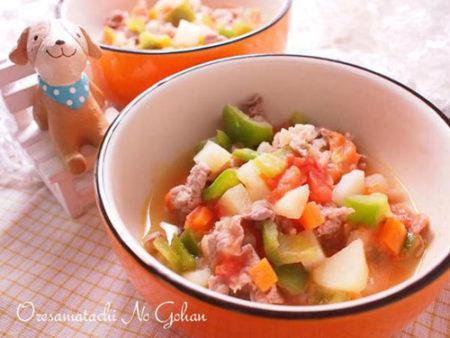 おすすめ犬のトマトレシピ