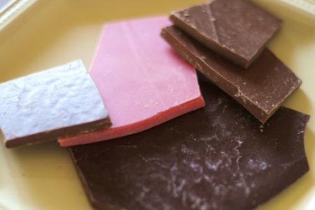 犬にいちごチョコレート