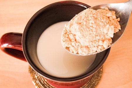 きな粉ミルク