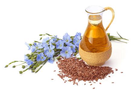 亜麻仁油と種子